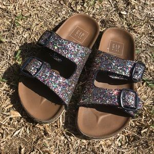 Gap kids size 13 Birkenstock inspired sandals